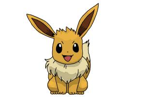 How to Draw Pokemon - Eevee