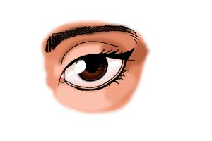 How to Draw Eyeliner