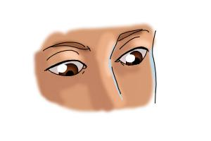 How to Draw Eyes Looking Down