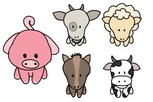 How to Draw Farm Animals For Kids
