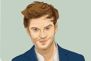 How to Draw Finnick Odair, Sam Claflin from The Hunger Games