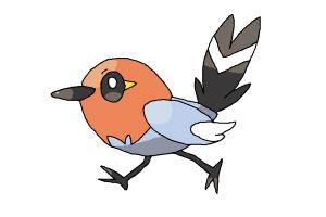 How to draw Fletchling