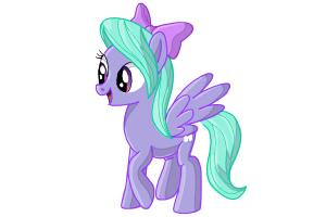 How to Draw Flitter from My Little Pony Friendship Is Magic