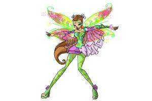How to Draw Flora, Fairy Of Nature from Winx