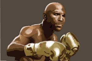 How to draw Floyd Mayweather Jr.