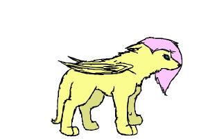 how to draw Fluttershy as a wolf