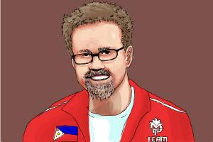 How to Draw Freddie Roach