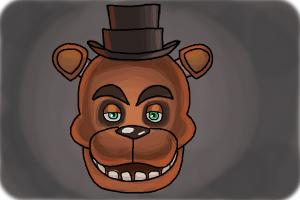 How to draw Freddy Fazbear from Five Nights at Freddys