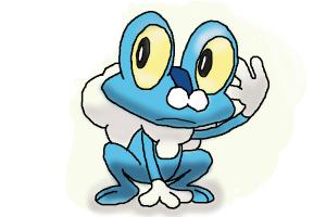 How to Draw Froakie
