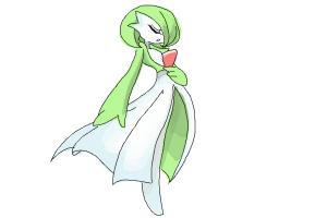 How to Draw Gardevoir from Pokemon