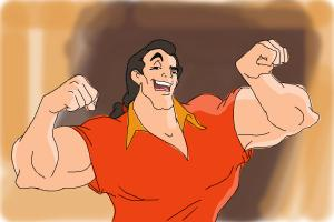 How to Draw Gaston, Disney Villain