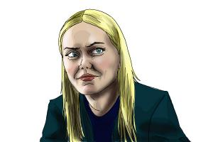 How to draw Georgina Haig