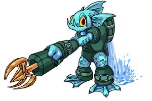 How to Draw Gill Grunt from Skylanders Giants