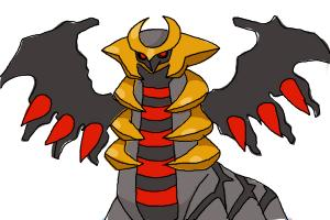 How to draw Giratina