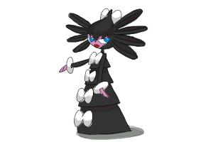 How to draw Gothitelle from Pokemon