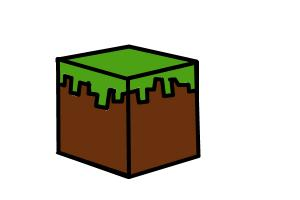 How to Draw Grass Block