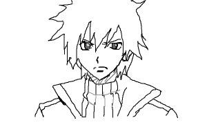 How to draw Gray Fullbuster from Fairy tail