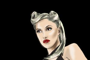 How to Draw Gwen Stefani