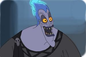 How to Draw Hades, Disney Villain