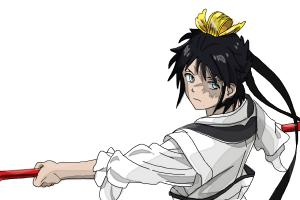 How to draw Hakuryuu Ren from Magi: The Labyrinth of Magic
