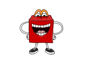 How to Draw Happy, Mcdonald'S Happy Meal Mascot