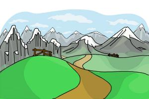 How to Draw Hills