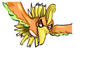 How to Draw Ho-Oh from Pokemon