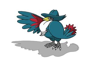 How to Draw Honchkrow from Pokemon
