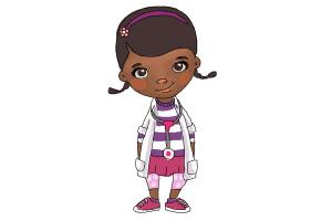 How to draw Doc Mcstuffins Easy