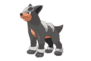 How to draw Houndour