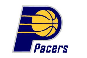 How to draw Indiana Pacers Logo, NBA team logo