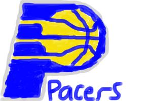 How to Draw Indiana Pacers Logo