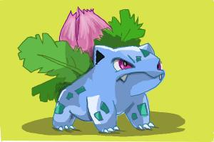 How to draw Ivysaur