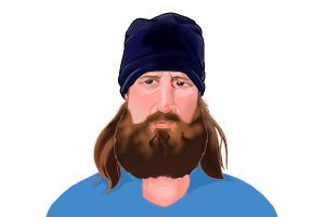 How to Draw Jase Robertson from Duck Dynasty