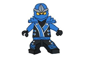 How to Draw Jay from Lego Ninjago