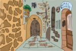 How to Draw Jerusalem Old City