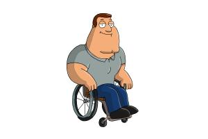 How to Draw Joe, Joseph Swanson from Family Guy