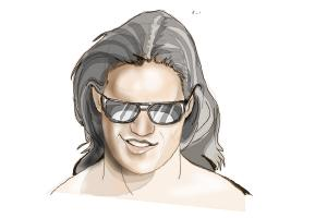 How to Draw John Morrison from Wwe