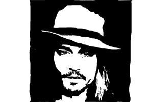 How to Draw Johnny Depp