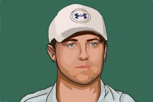 How to draw Jordan Spieth
