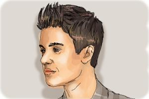 How to Draw Justin Bieber 2014