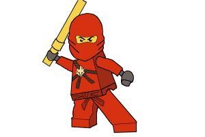 how to draw lego ninjago zane