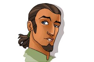 How to Draw Kanan, The Cowboy Jedi from Star Wars Rebels