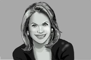 How to Draw Katie Couric