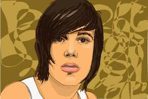 How to draw Kellin Quinn