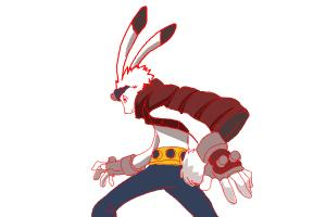How to draw King Kazma from Summer Wars