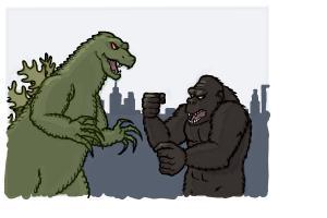 How to Draw Godzilla vs. Kong