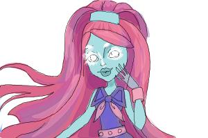 How to Draw Kiyomi Haunterly from Monster High