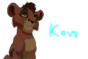 How to draw Kovu from Lion King 2