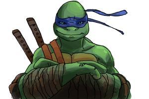 How to Draw Leonardo from Teenage Mutant Ninja Turtles 2014, Tmnt